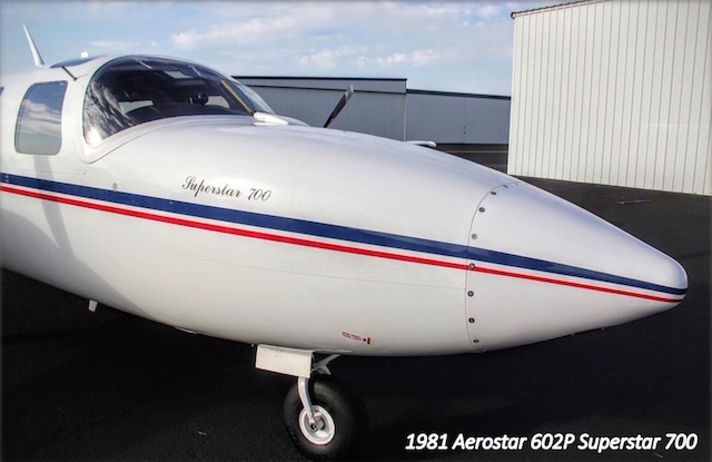 1981 Piper Aerostar 602P Superstar 700 for sale